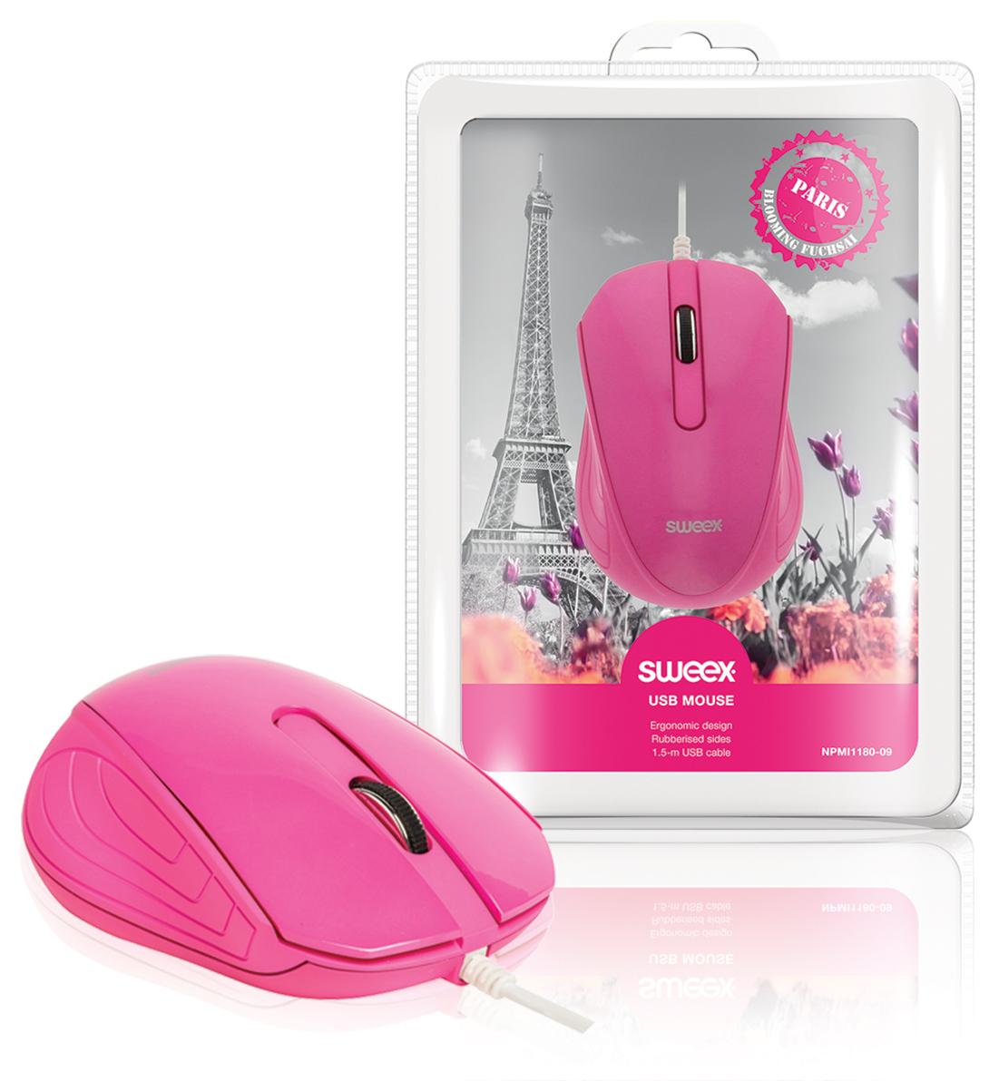 Sweex NPMI1180-09 - USB myš Paris