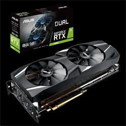 ASUS DUAL-RTX2080-8G 8GB/256-bit, GDDR6, 3xHDMI, DP, USB-C