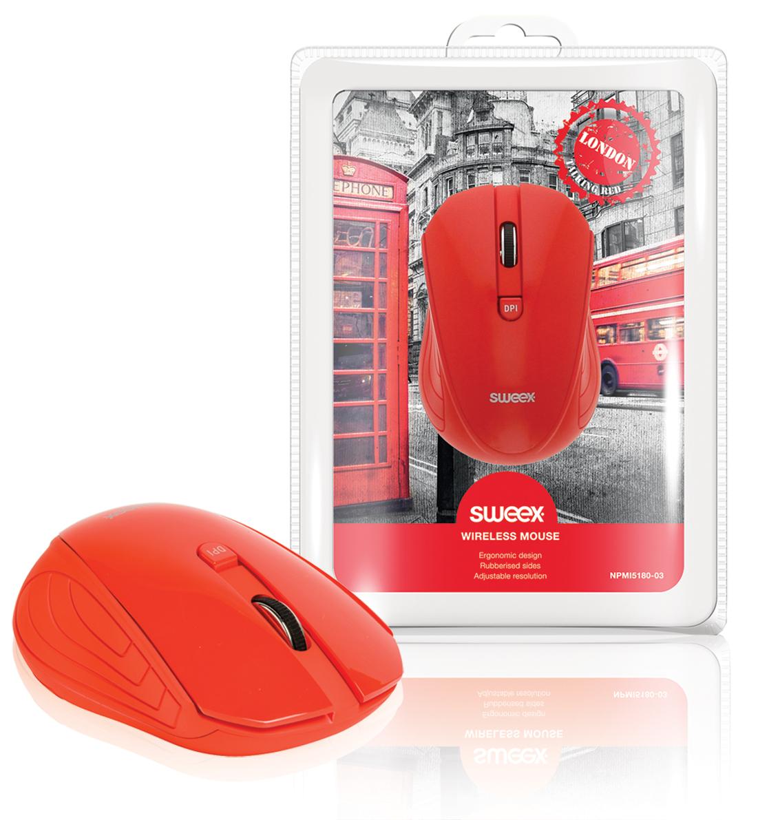 Sweex NPMI5180-03 - Bezdrátová myš London