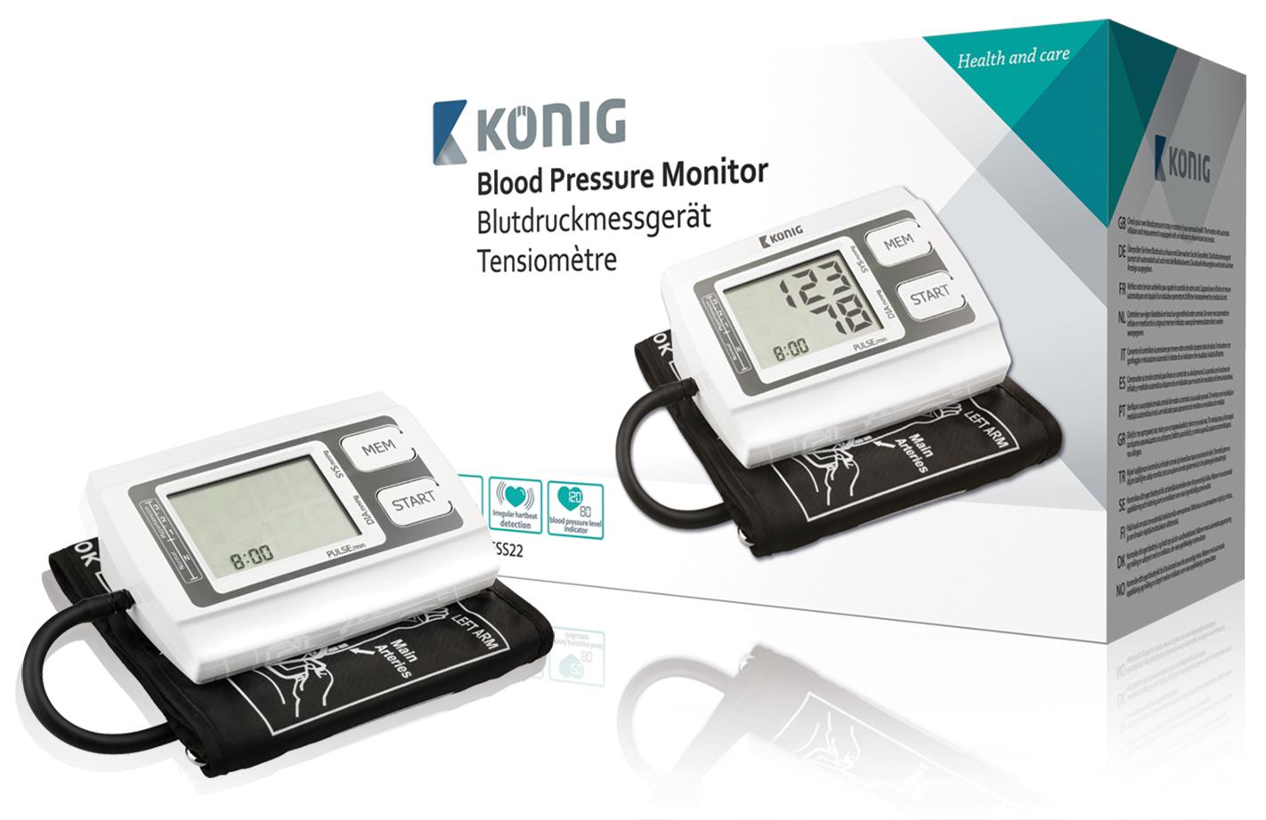 König HC-BLDPRESS22 - Automatický měřič krevního tlaku na nadloktí