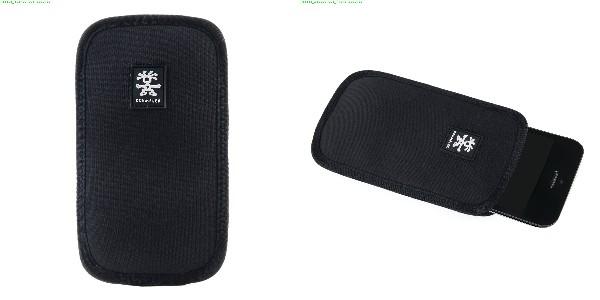 Crumpler Base Layer Smart Phone 90 - black/rust red
