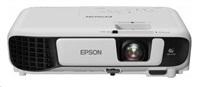 EPSON-poškozený obal- EB-S41, 800x600, 3300ANSI, 15000:1, USB, VGA, HDMI, Wi-Fi ,RGB se závěrkou s kapalnými