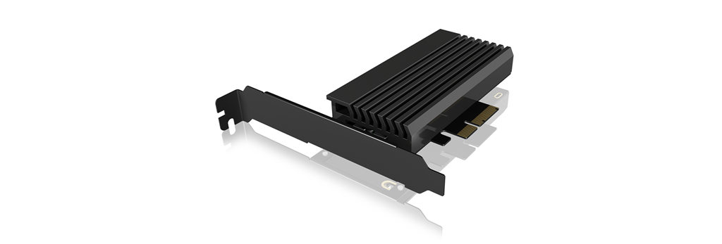 IcyBox PCIe extension card with M.2 M-Key socket for one M.2 NVMe SSD