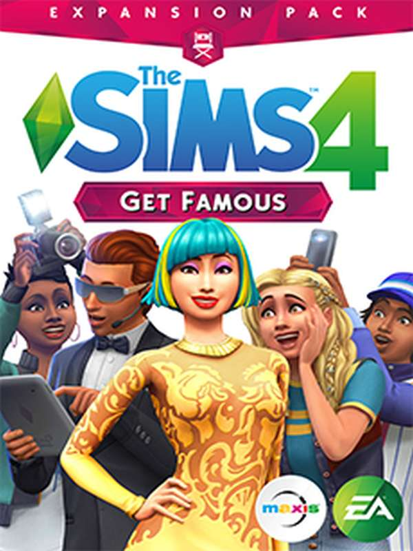 THE SIMS 4 GET FAMOUS (EP6) PC CZ/SK