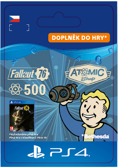 ESD CZ PS4 - Fallout 76: 500 Atoms