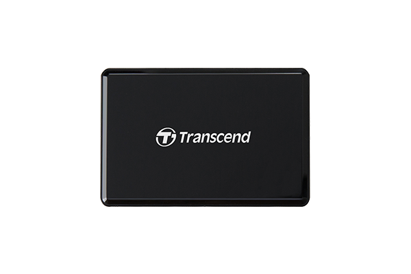 TRANSCEND Gen1 All-in-1 UHS-II Multi Card Reader RDF9K2, USB 3.1, Black