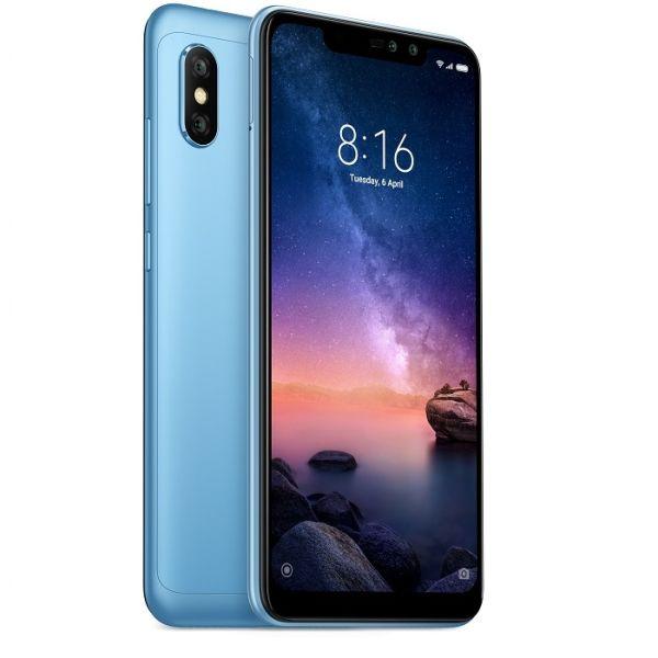 Xiaomi Redmi Note 6 Pro Global Blue/6,26´´ 2280x1080 FullHD/1,8GHz OC/4GB/64GB/SD/2xSIM/FP/12+5MPx/4000mAh