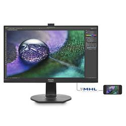 "Philips 272P7VPTKEB/00 27"" IPS LED 3840x2160 20 000 000:1 5ms 350cd HDMI DP Pivot black"