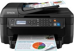 Epson WorkForce WF-2750DWF, A4, All-in-One, ADF, duplex, Fax, WiFi + cierny atrament XL