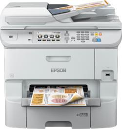 Epson WorkForce Pro WF-6590DWF, A4, All-in-One, duplex, ADF, Fax, LAN, Wifi, NFC, PDL + 2x cierny atrament XXL