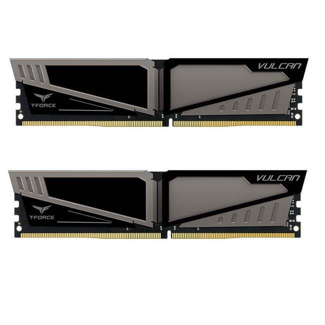Team Group Vulcan DDR4 16GB (2x8GB) 3200MHz CL16 1.35V XMP 2.0 Gray