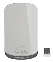 Speed-Link Cue Wireless Multitouch Mouse, silver