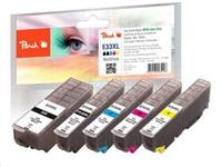 PEACH toner Epson Expression Premium XP-530/630/535/830, No 33XL MultiPack, bk, pbk, c, m, y