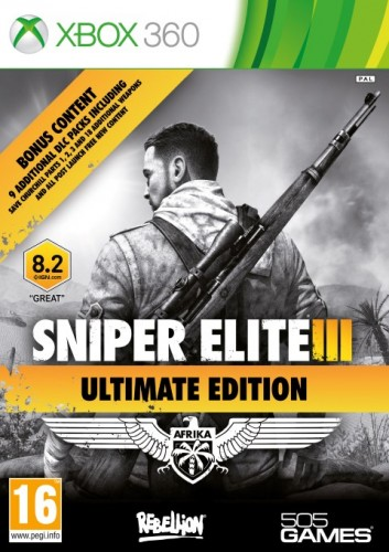 X360 - Sniper Elite 3 Ultimate Edition