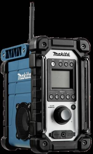 Stavební rádio Makita DMR 102 modré