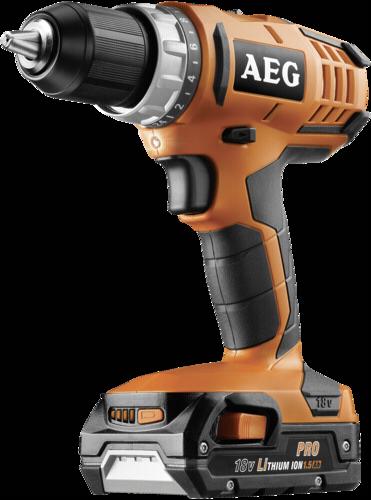 AEG BS 18 G2 (2x1,5 Ah PRO Li) Aku vrtacka