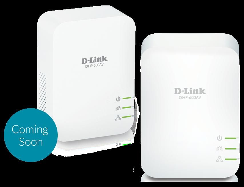 D-Link DHP-601AV PowerLine AV2 1000 HD Gigabit Starter Kit (2-pack)