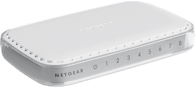 NETGEAR 8xGIGABIT Desktop switch, GS608