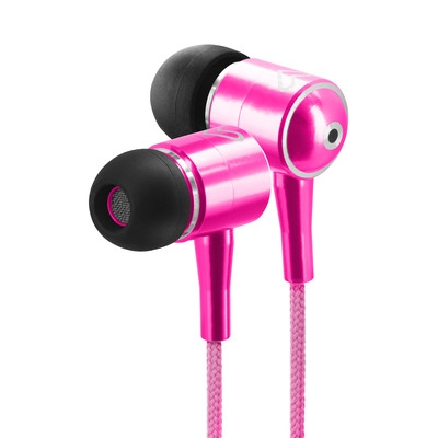 ENERGY Earphones Urban 2 Magenta, ultralehká sluchátka, 96±3 dB (@1Khz),3,5mm jack