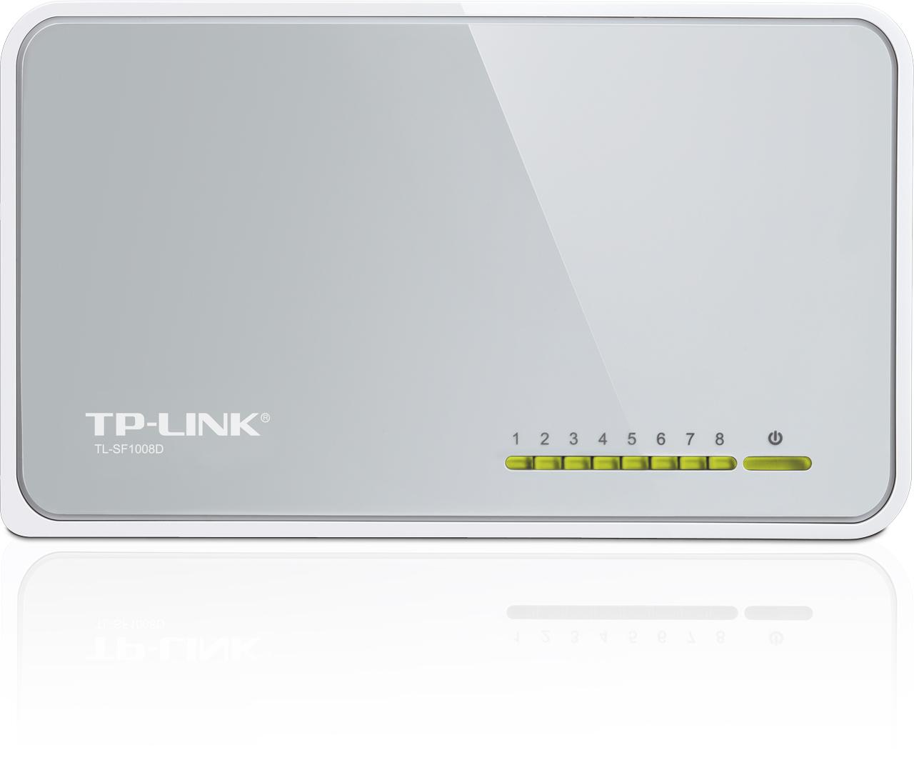 TP-Link TL-SF1008D 8x 10/100Mbps Desktop Switch