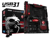 MSI MB Sc LGA2011-3, X99A GAMING 9 ACK, Intel X99, 8xDDR4, SATA3, USB3.1, GbLAN, WiFi, BT, E-ATX