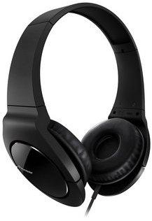 Pioneer stylová sluchátka černá