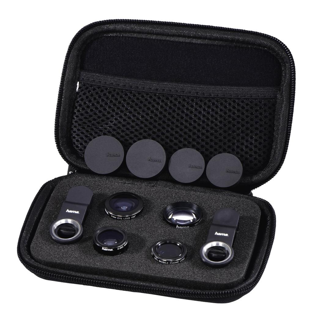 Hama Uni 5v1, set objektivů pro mobily/tablety