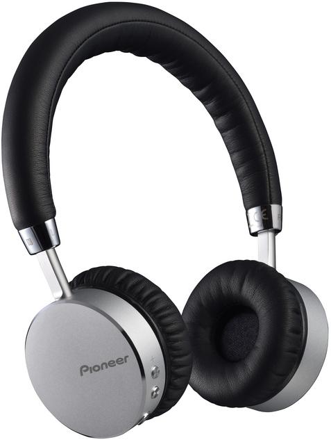 Pioneer sluchátka s BT černostříbrná
