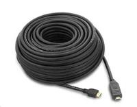 PremiumCord HDMI High Speed s Ether.,se zesilovačem,20m,AWG26, 3xstínění, M/M, zlacené konektory