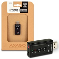 AXAGON USB2.0 - HQ audio adapter 96kHz S/PDIF out