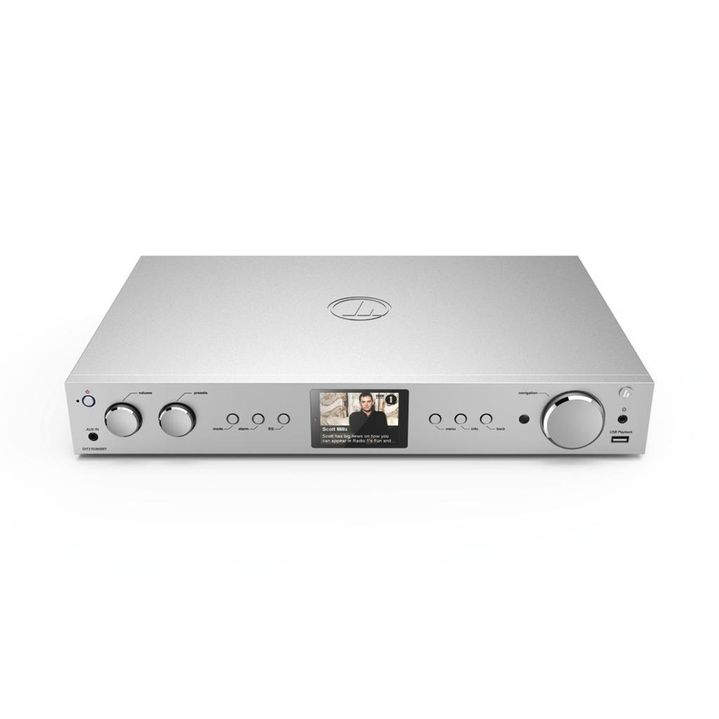 Hama internetové rádio DIT2100MSBT, hybrid Hi-Fi Tuner, FM/DAB/DAB+/A/MR/BT, stříbrné