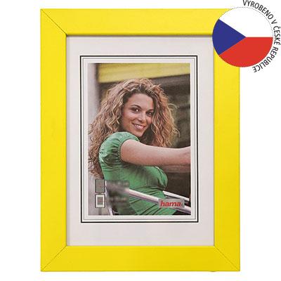 Hama rámeček dřevěný JESOLO, žlutá, 50x70 cm