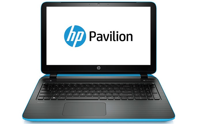 HP Pavilion 15, A10-7300M, 15.6HD, M260, 4GB, 500GB, DVDRW, W8.1, modro-stříbrný