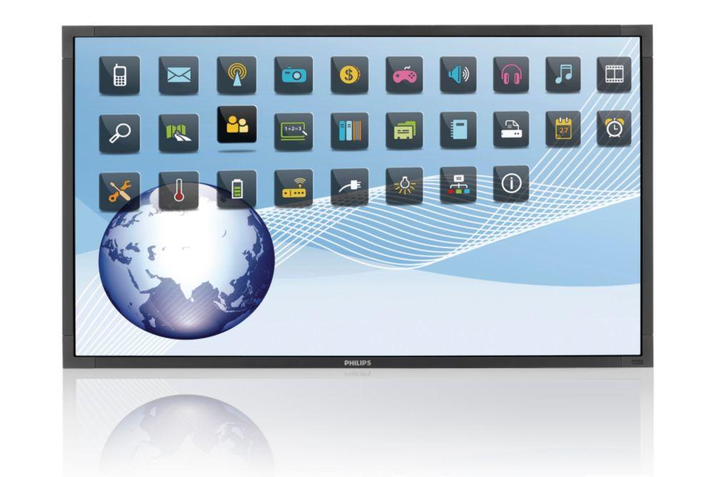 "55"" LCD Philips BDL5556ET-FHD,6TP,infra,SI,HighBr"