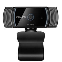 CANYON webkamera 1080P full HD 2.0Mega auto focus, USB2.0 , otočná 360°, vestavěný mikrofon