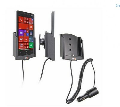 Brodit držák do auta pro Nokia Lumia 930 s nabíjením z cig. zapalovače