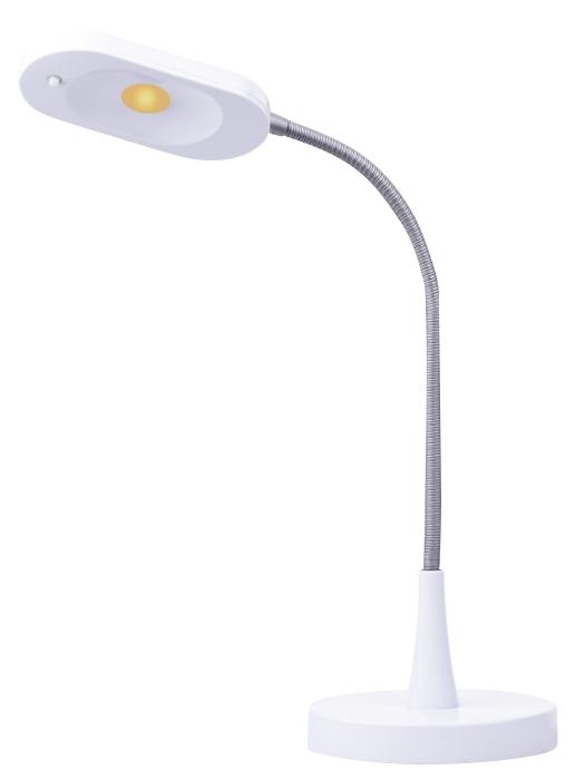 Emos LED stolní lampa HT6105, 320 lm, bílá