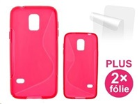 CONNECT IT pouzdro na telefon, Samsung S5 mini (SM-G800), ČERVENÉ