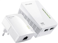 TP-Link Powerline extender TL-WPA2220 Starter Kit Adaptér 200 Mbps + WiFi 300Mbps