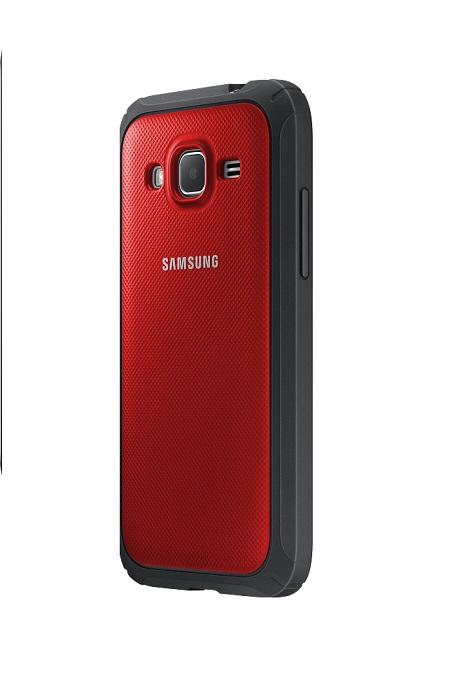 Samsung ochranný kryt EF-PG360B pro Samsung Galaxy Core Prime (SM-G360), červená