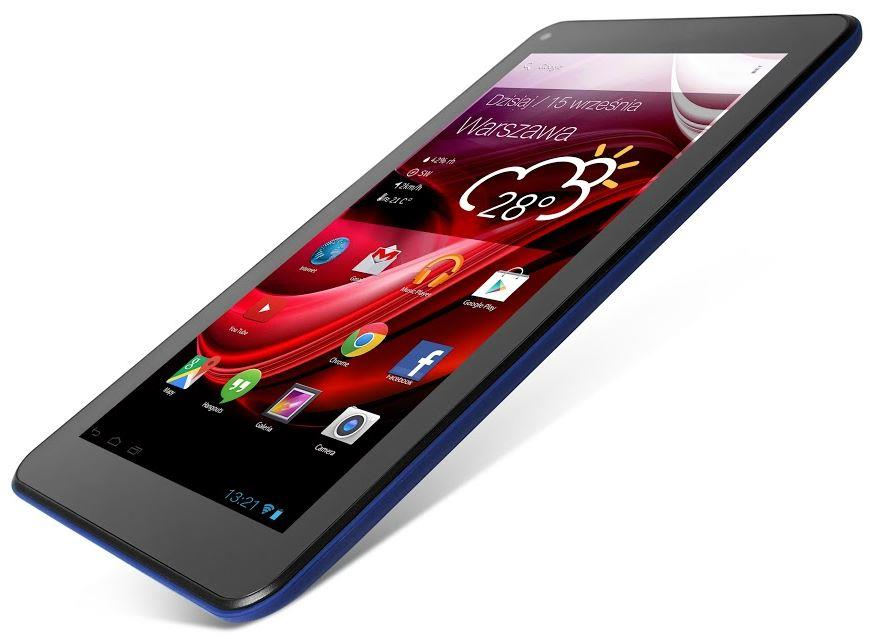 Lark Evolution X4 7 IPS, 7'' IPS, 1.3GHz, 8GB, 512MB RAM, Android 4.4, modrý
