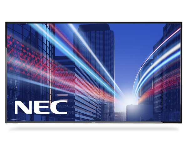 "NEC 42"" velkoformátový display E425 - 12/7, 1920x1080, 300cd, media player, bez stojanu"