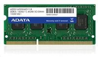 SODIMM DDR3L 4GB 1600MHz CL11 ADATA, bulk
