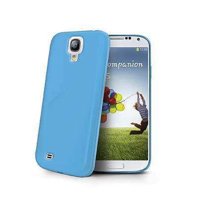 Celly GELSKIN kryt pro Samsung Galaxy S4, silikonový, modrý