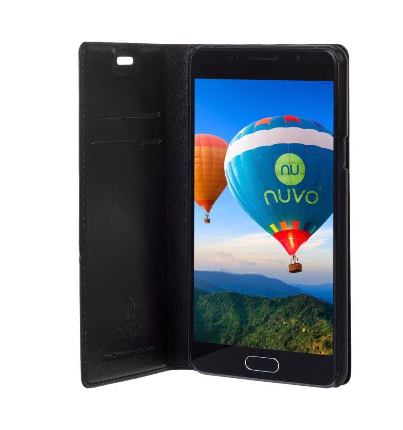 Nuvo Flipové pouzdro NUVO pro Sony Xperia E5 černé