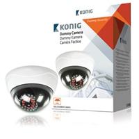 König atrapa venkovní kopulovité kamery s infračervenou LED