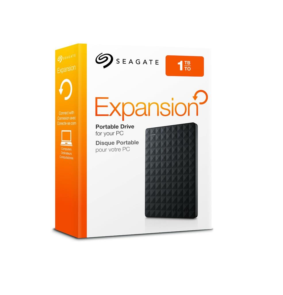 "Ext. HDD 2,5"" Seagate Expansion Port. 1TB černý"