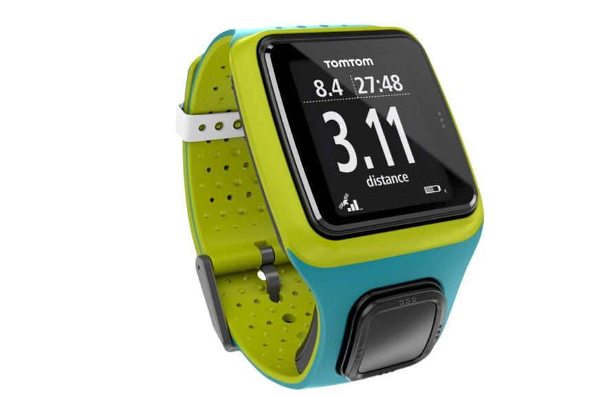 TomTom Runner Turquoise/Bright Green