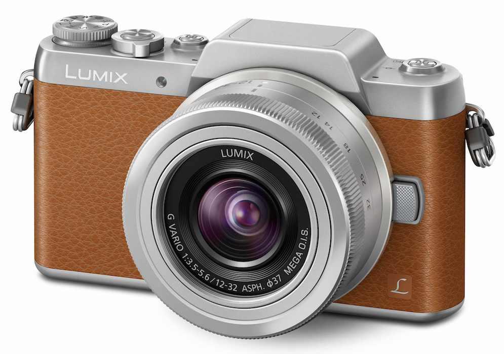 Panasonic DMC-GF7KEG-T, 16 MP + LUMIX 12-32mm, hnědý/stříbrný