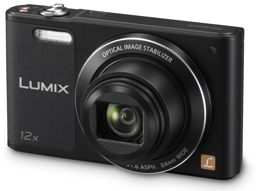 Panasonic DMC-SZ10EP-K, 16Mpx, 12x zoom 24mm, OIS, HD, WiFi, černý